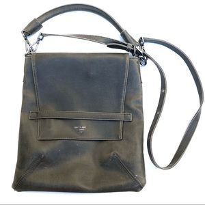 Matt & Nat Riley Vegan Leather Hobo Bag Olive
